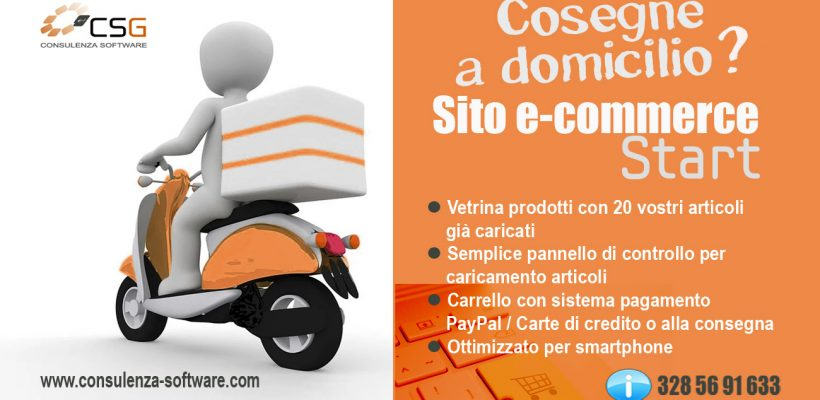 Offerta E-commerce Start